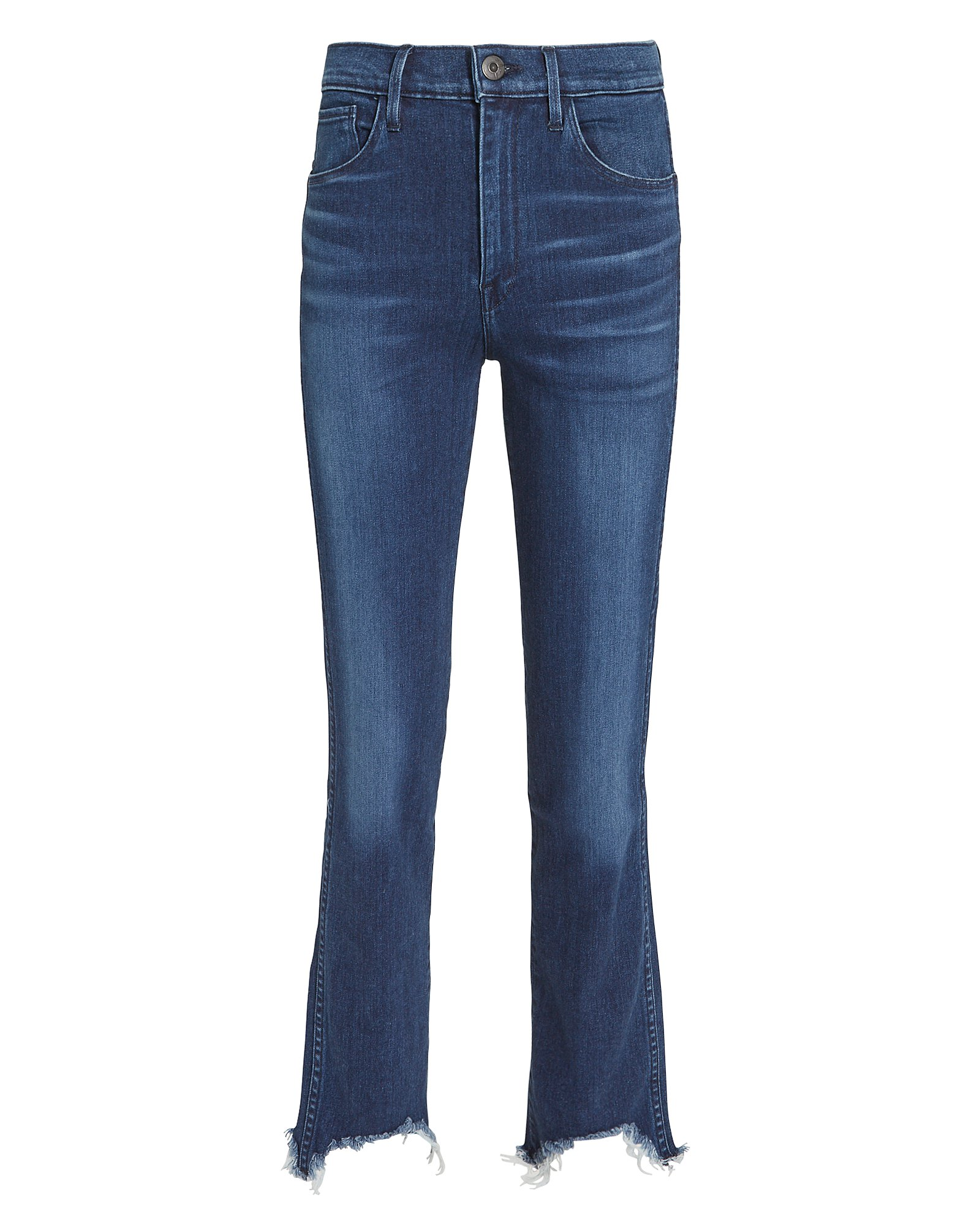 W3 Straight Authentic Crop  Eleta Jeans
