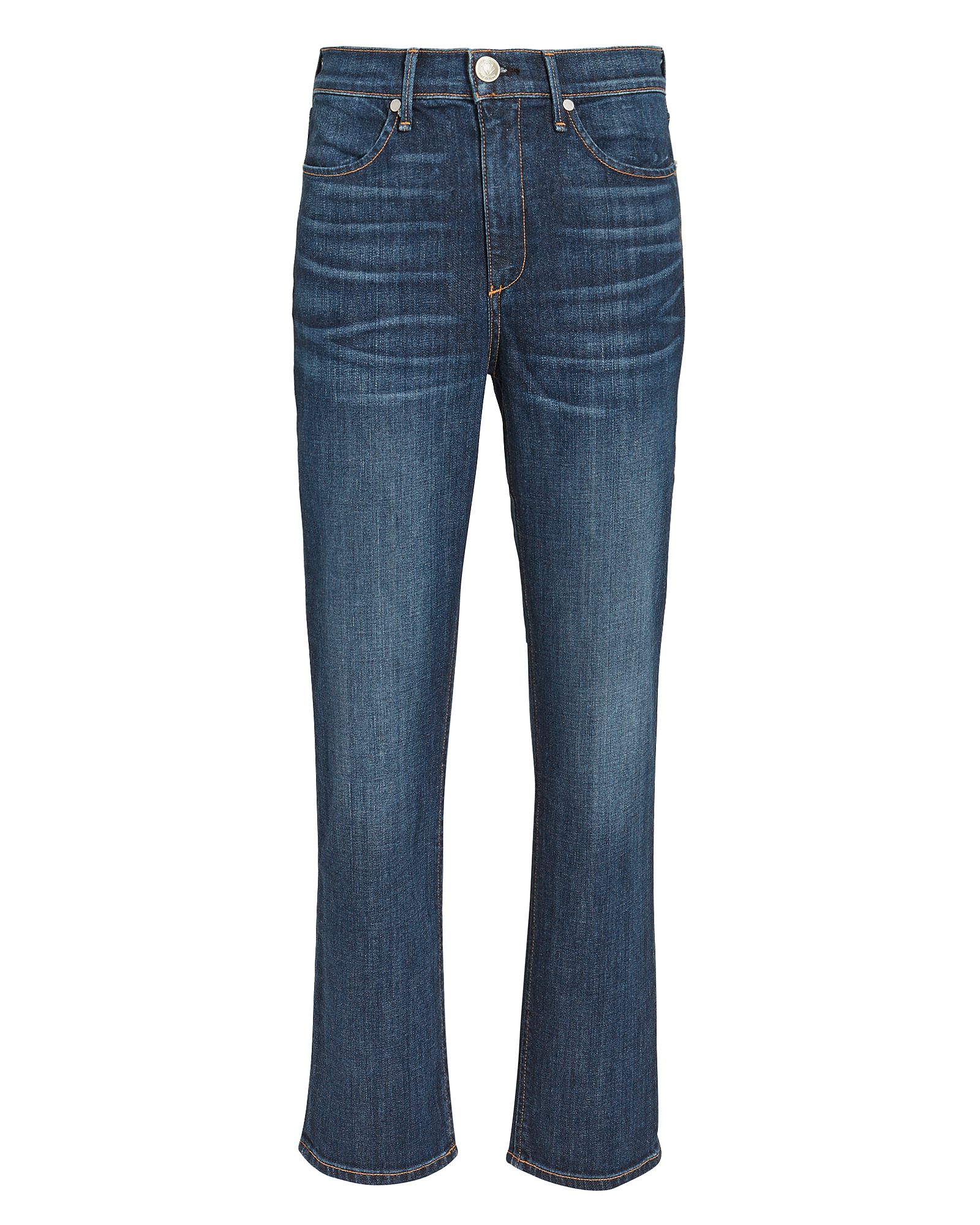High-Rise Ankle Cigarette Jeans
