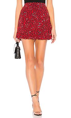 Lena Mini Skirt                                             Lovers + Friends