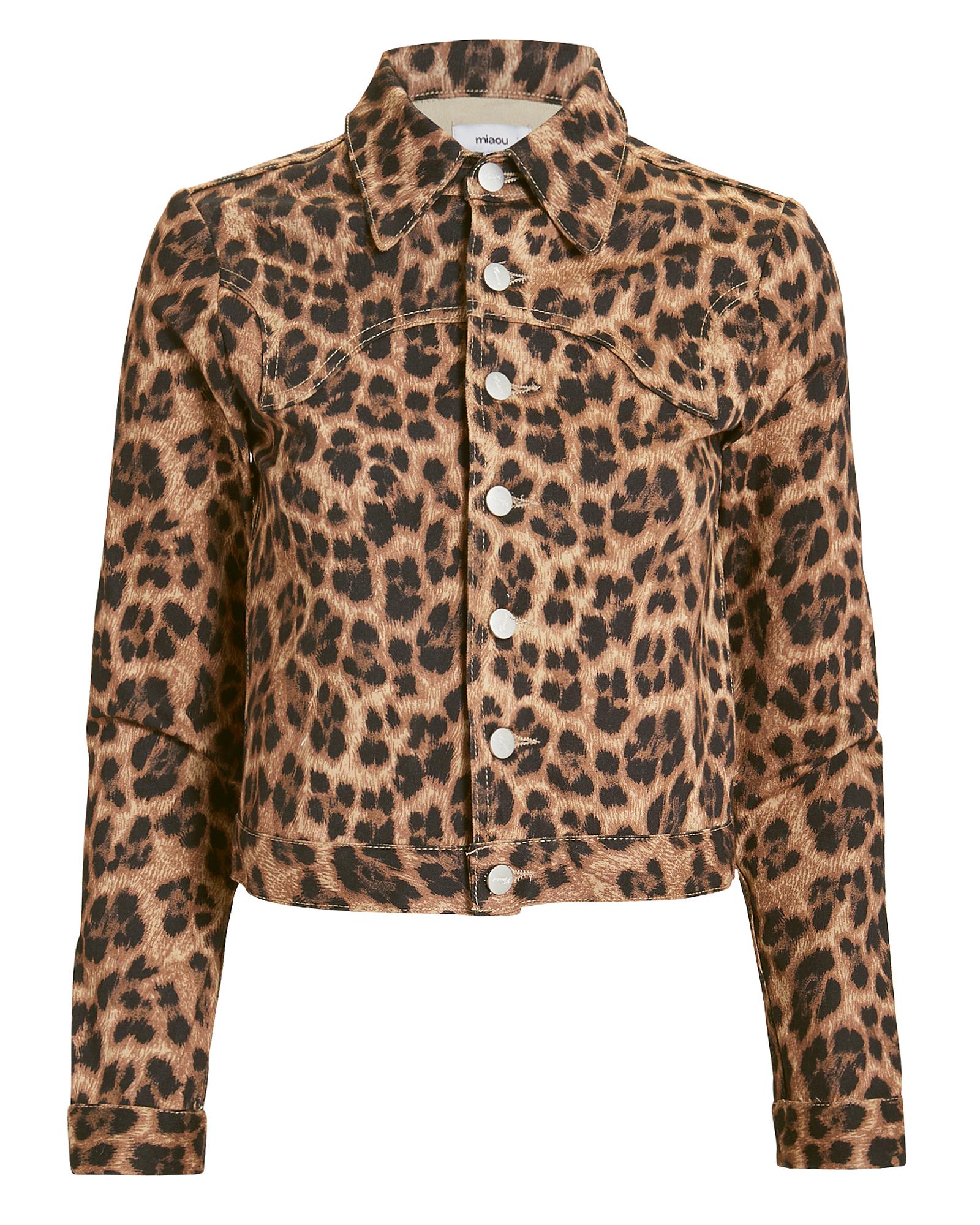 Lex Leopard Jacket