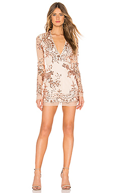 Jessa Deep V Mini Dress                                             by the way.