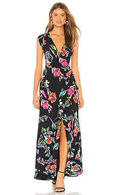 Swept Away Silk Maxi Dress                                             Yumi Kim