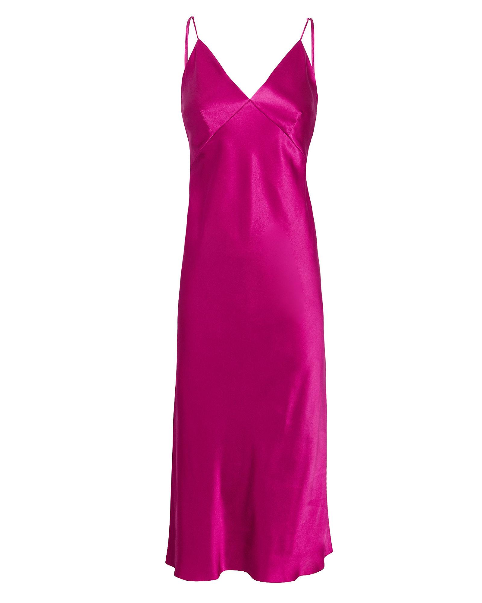 Issa Dark Pink Slip Dress
