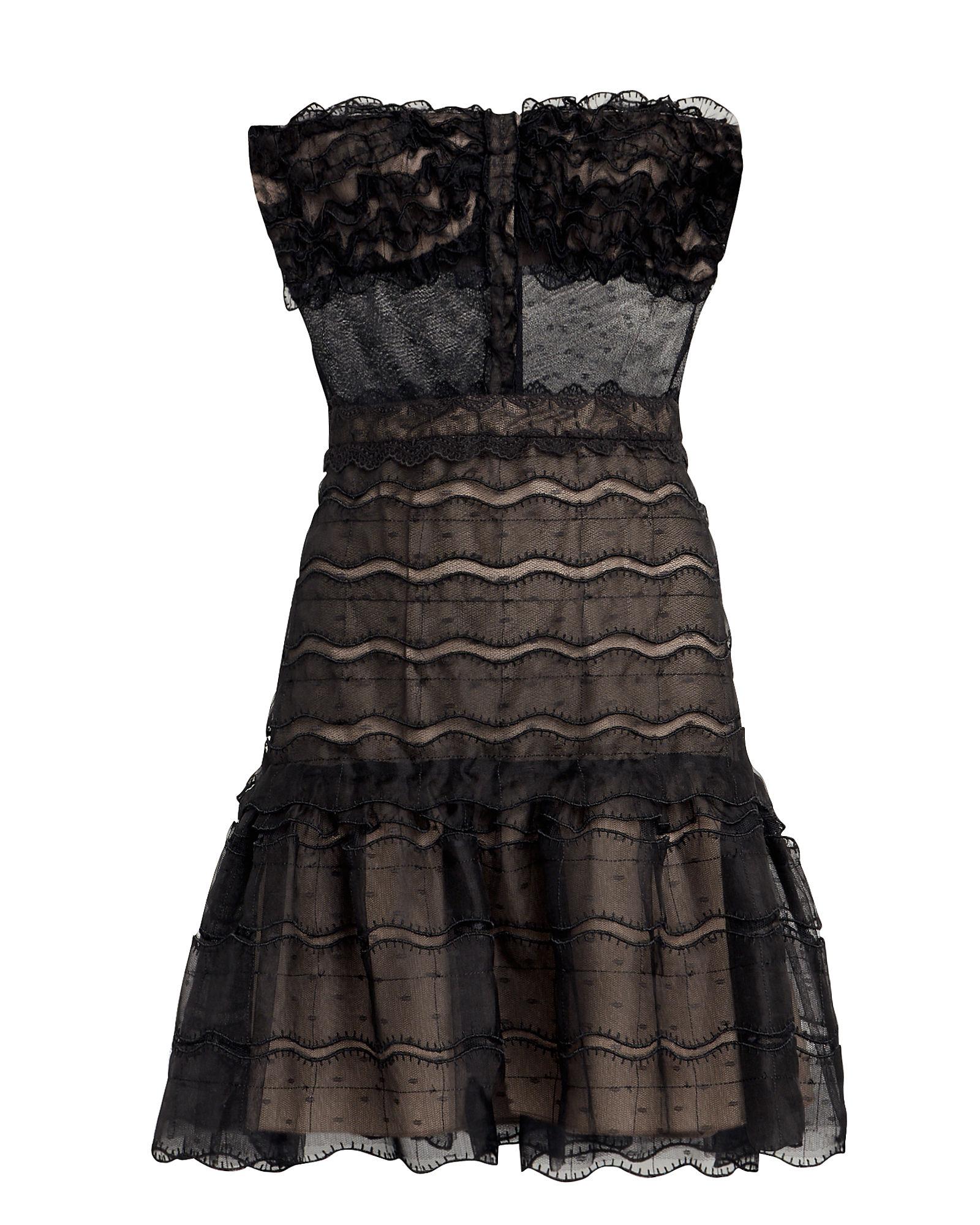 Adlai Bustier-Look Dress