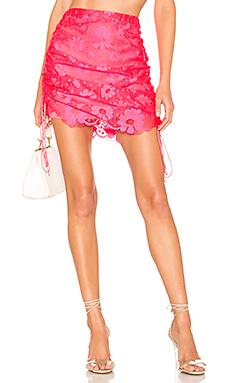 Avalon Mini Skirt                     For Love & Lemons
