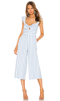 Ruffle Sleeve Jumpsuit                     BCBGeneration