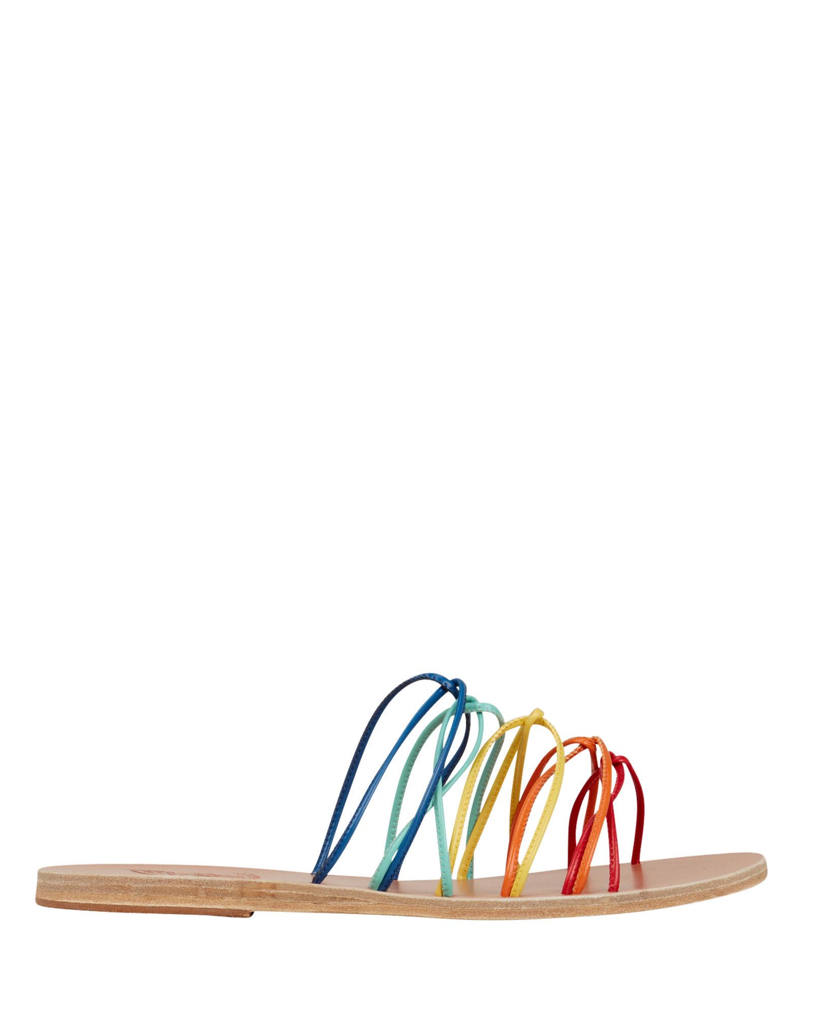 Rodopi Rainbow Strap Sandals