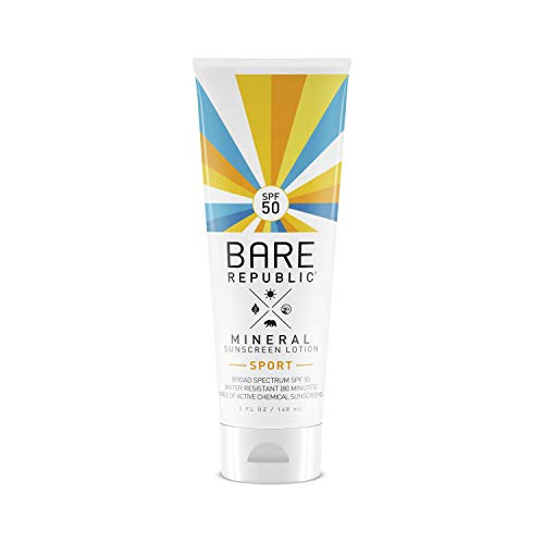 Bare Republic Mineral Sport SPF 50 Sunscreen Lotion (5 oz)