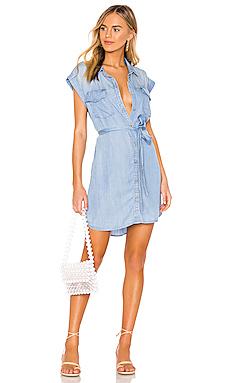 Dusty Sleeveless Shirt Dress                     Sanctuary