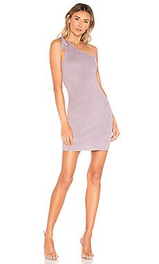 Marella One Shoulder Dress                     superdown