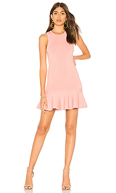 Jazzie Ruffle Dress                     superdown