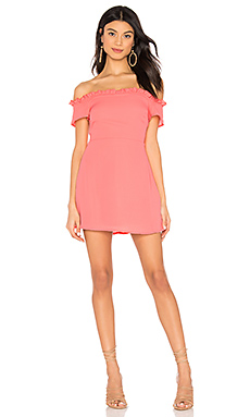 Dulipa Off Shoulder Dress                     superdown