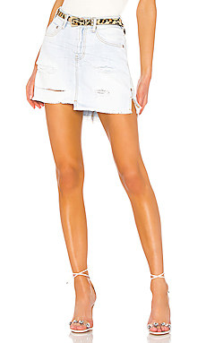 2020 Mini High Waist Skirt                     One Teaspoon