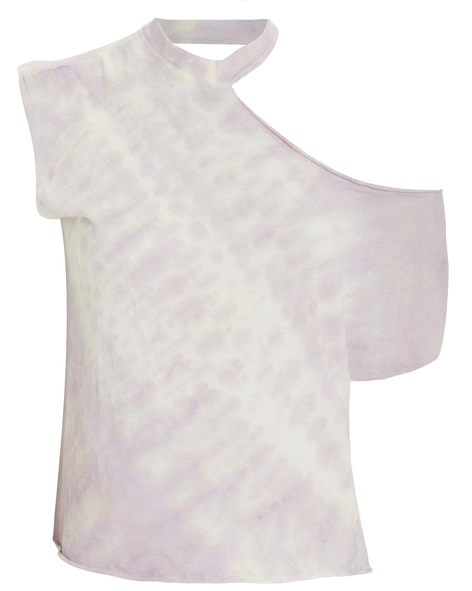 Axel Cut-Out Tie Dye T-Shirt
