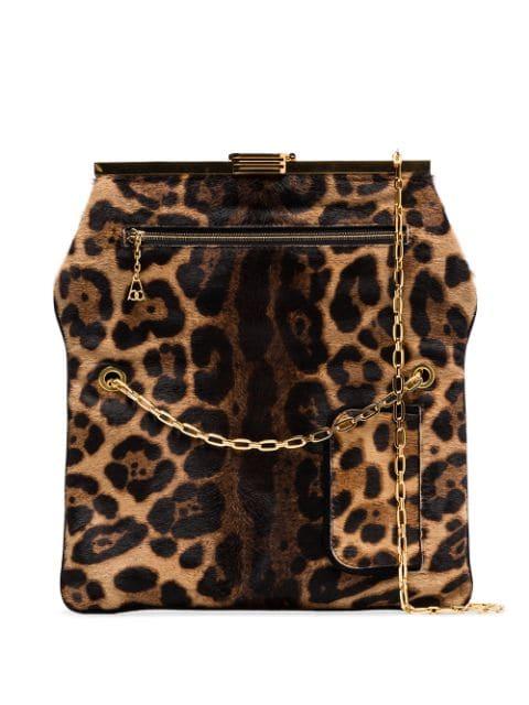 Bienen Davis PM Leopard Print Haircalf Bag - Farfetch