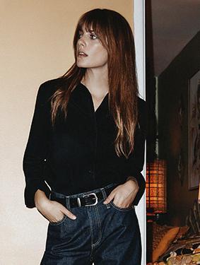 The Harper In Opulent Black   AG Jeans Official Store