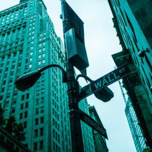 Wall Street in NY