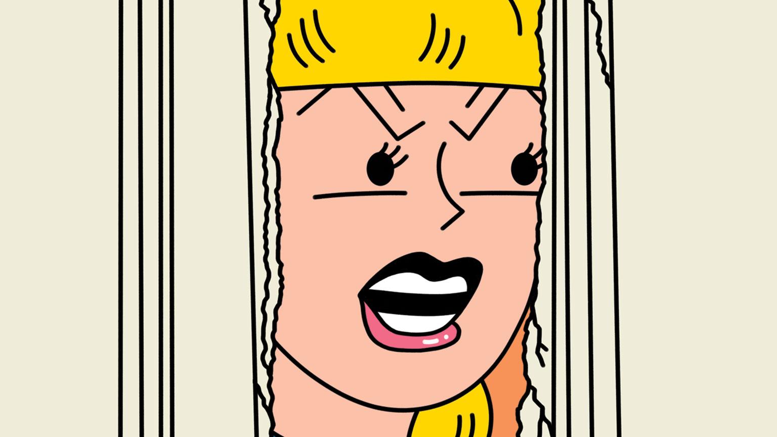 Illustration of Betty Cooper by Sam Island