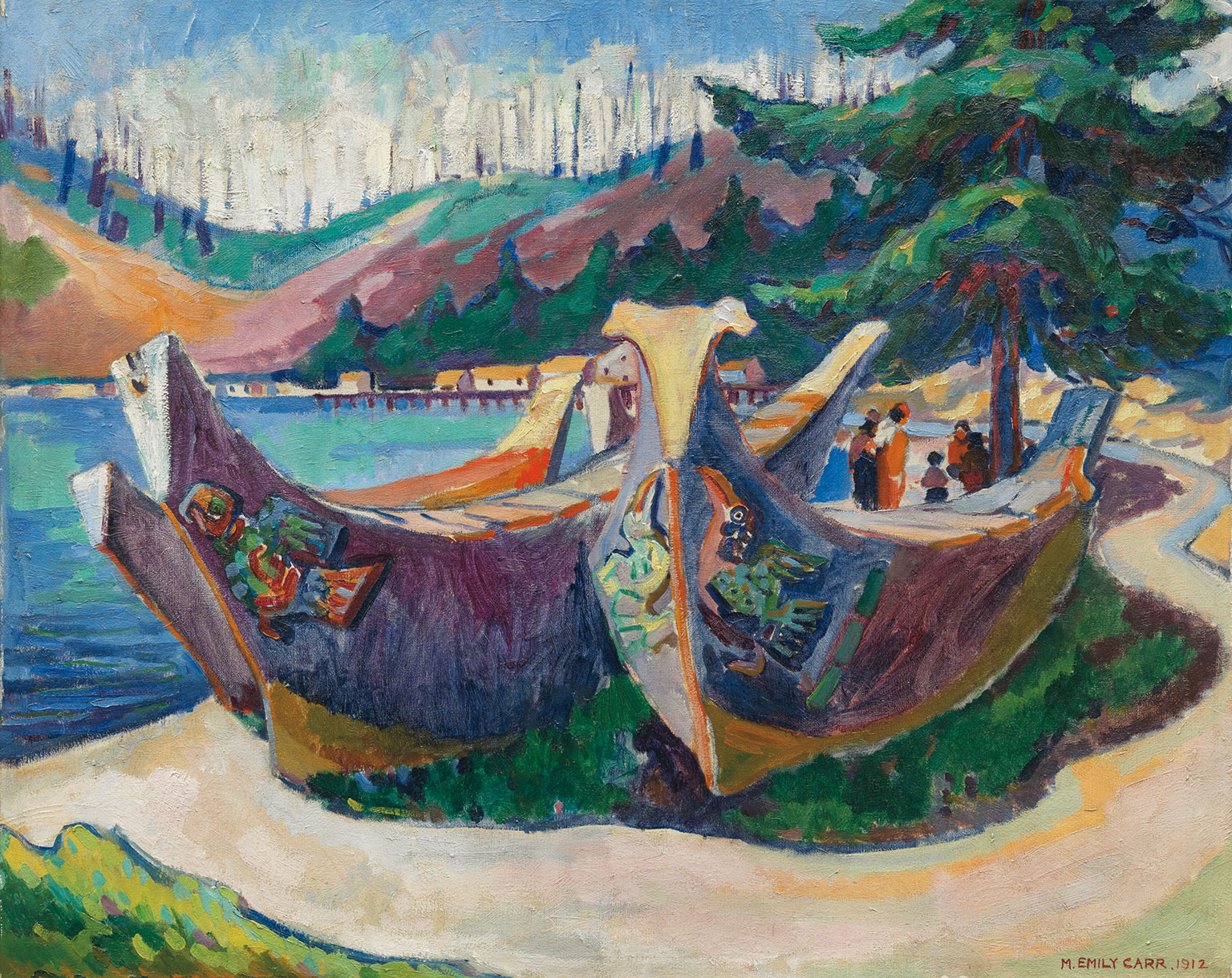 Painting by Emily Carr/courtesy of the Vancouver Art Gallery