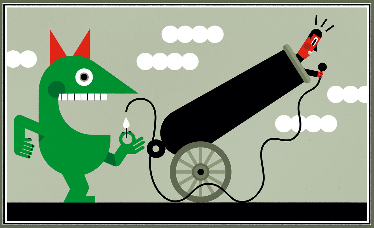 Illustration by Luc Melanson
