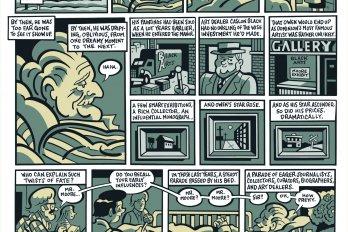 Comic strip about success