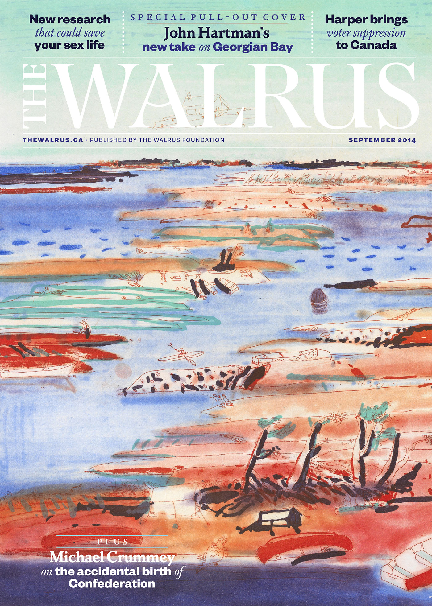 The Walrus September 2014 (Volume 11, Number 7)