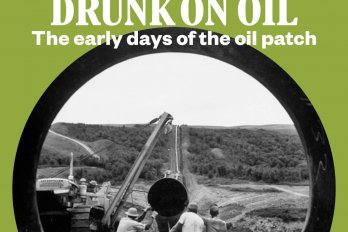 Drunk on oil book cover