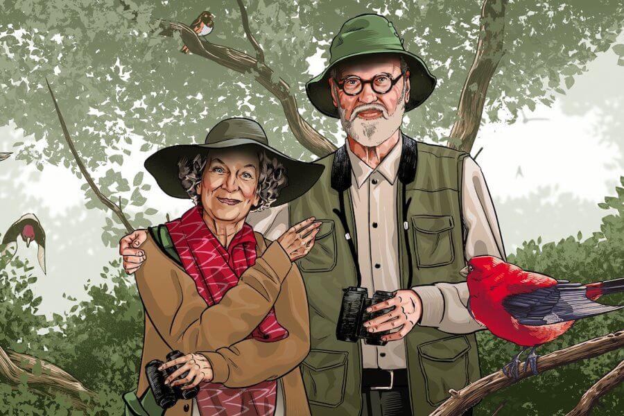 How Margaret Atwood and Graeme Gibson Built a Bird Sanctuary