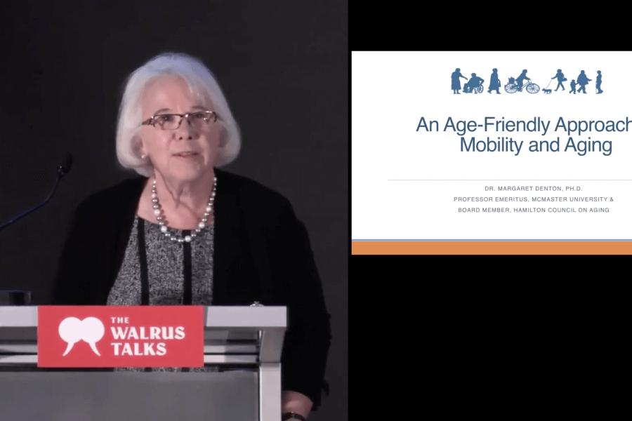 Age-friendly communities empower seniors