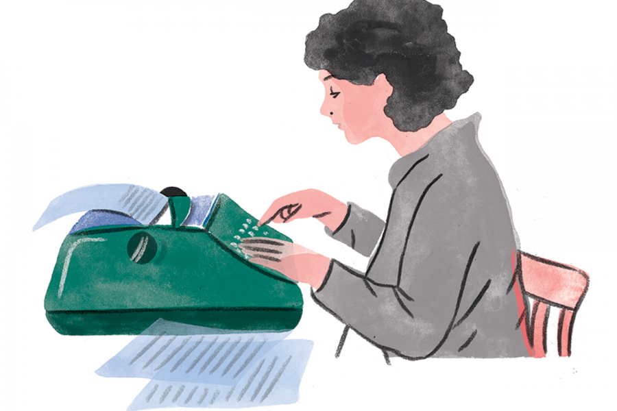 How Margaret Atwood Learned to Type