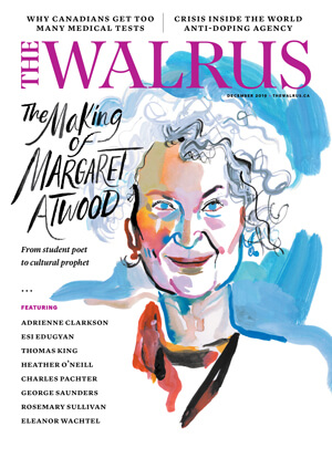 Cover of the December issue of The Walrus magazine.