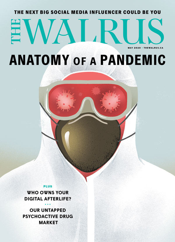 Cover of the May issue of The Walrus magazine.
