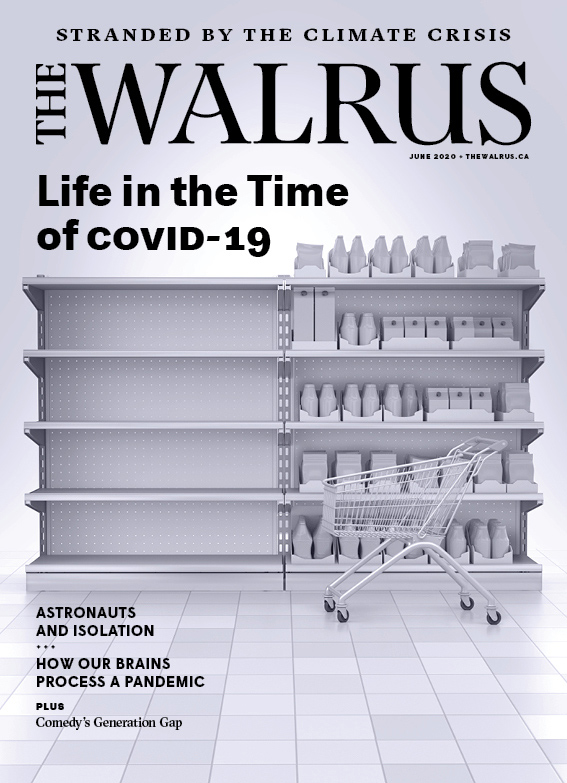 Cover of the June issue of The Walrus magazine.