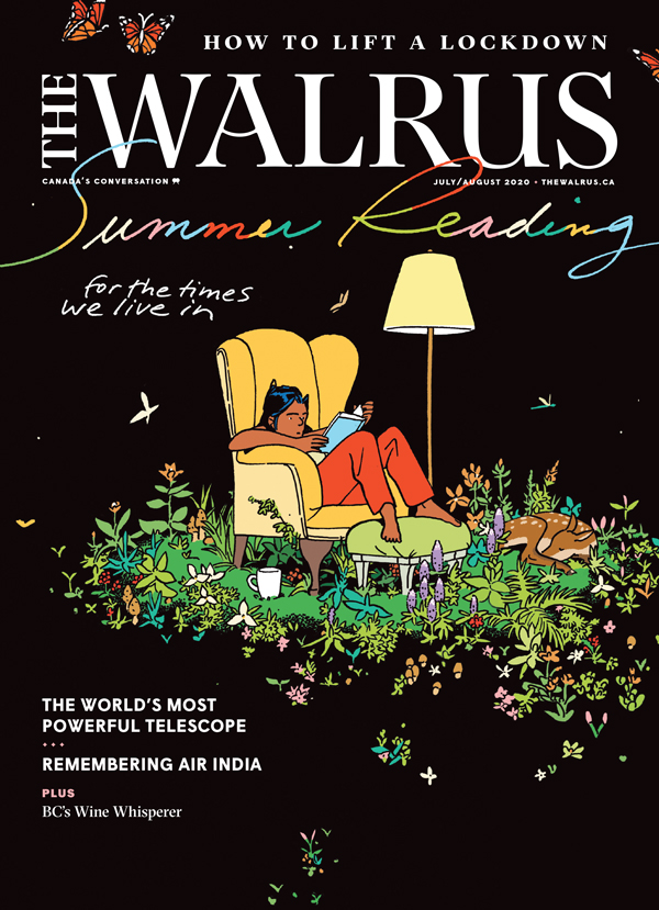 Cover of the July/Auguse issue of The Walrus magazine.