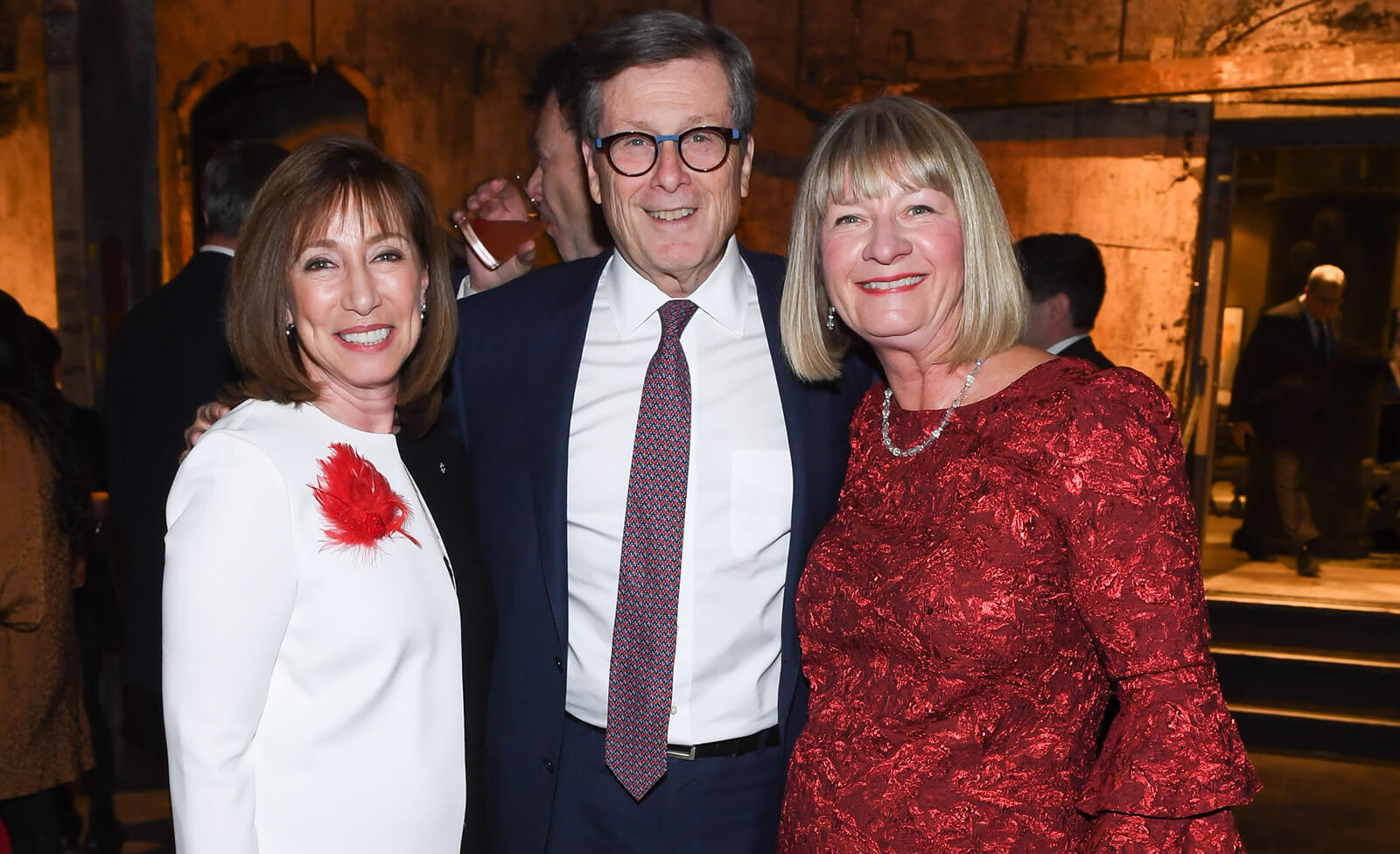 Mayor John Tory, Helen Burstyn and Shelley Ambrose at The Walrus Gala