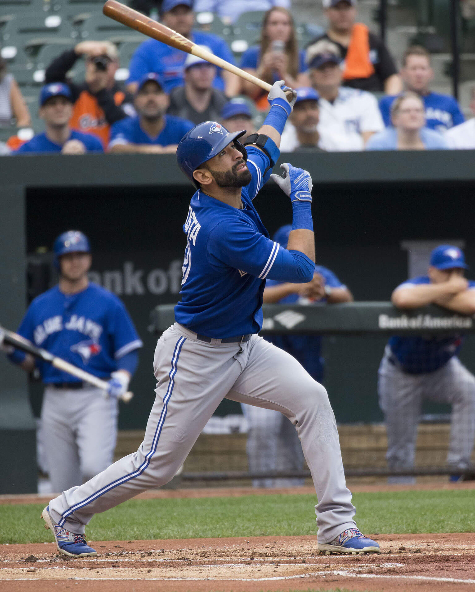 Photograph of José Bautista by Keith Allison / CC BY-SA 2.0
