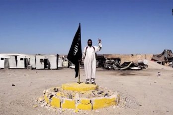Still image from an Islamic State recruiting video