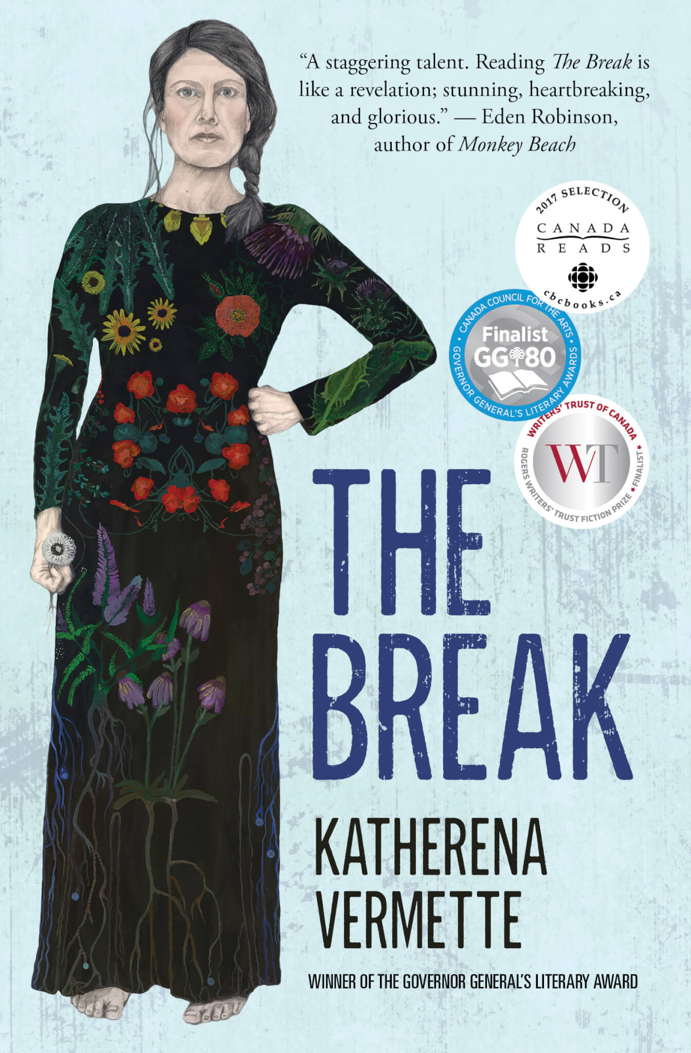 Book jacket for The Break
