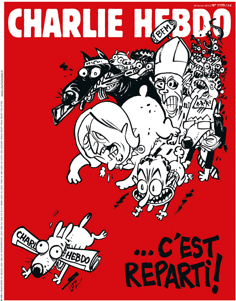 Artwork courtesy of charliehebdo.fr