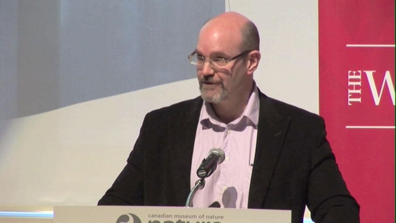 Video still of Peter Stoett from The Walrus Talks Climate