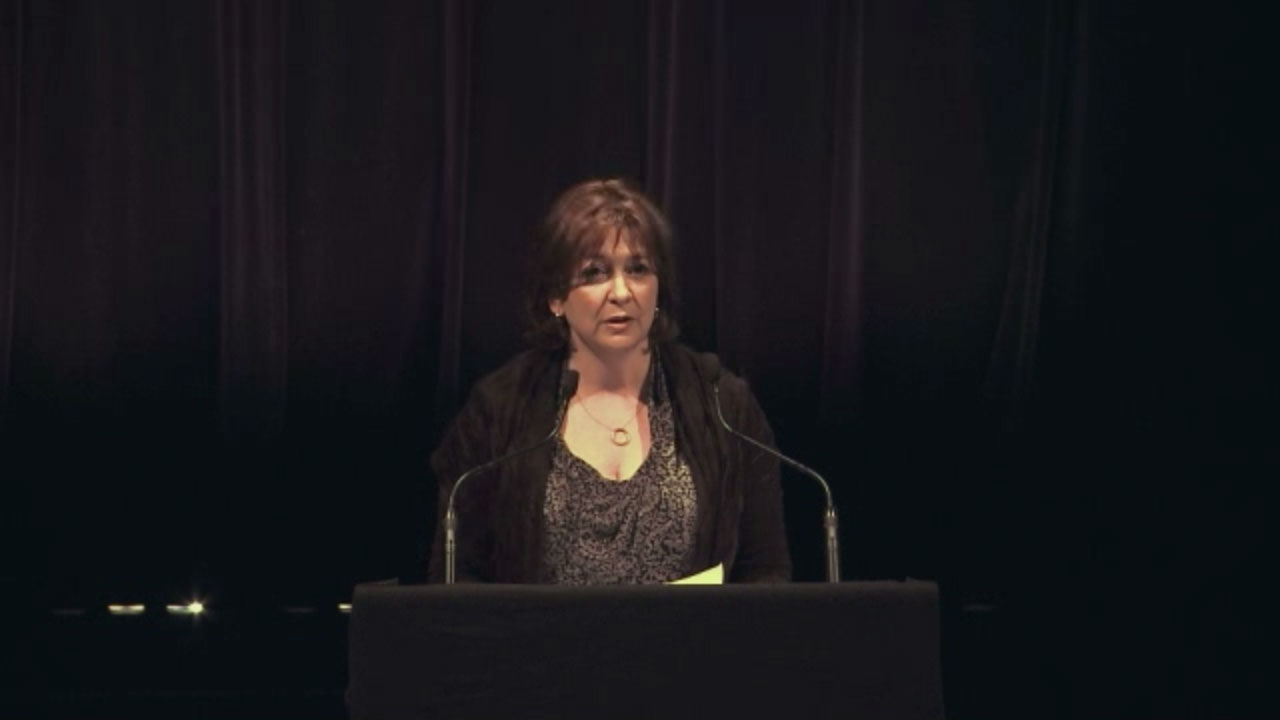 Video still of Anne-Marie Jean from The Walrus Talks The Art of Cultural Diversity