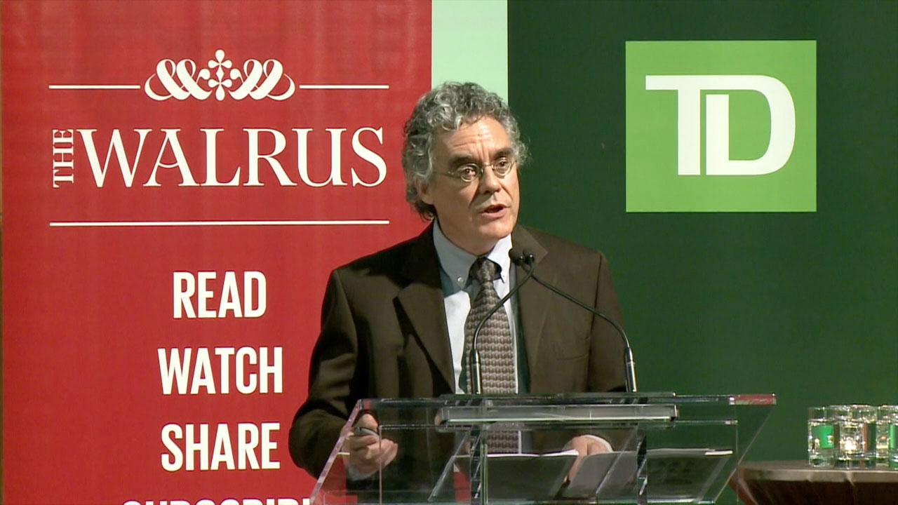 Video still of Dennis O'Hara from The Walrus Talks Sustainability