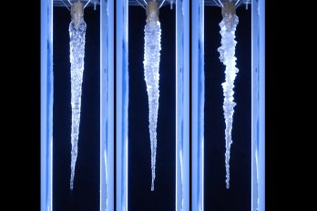 three icicles