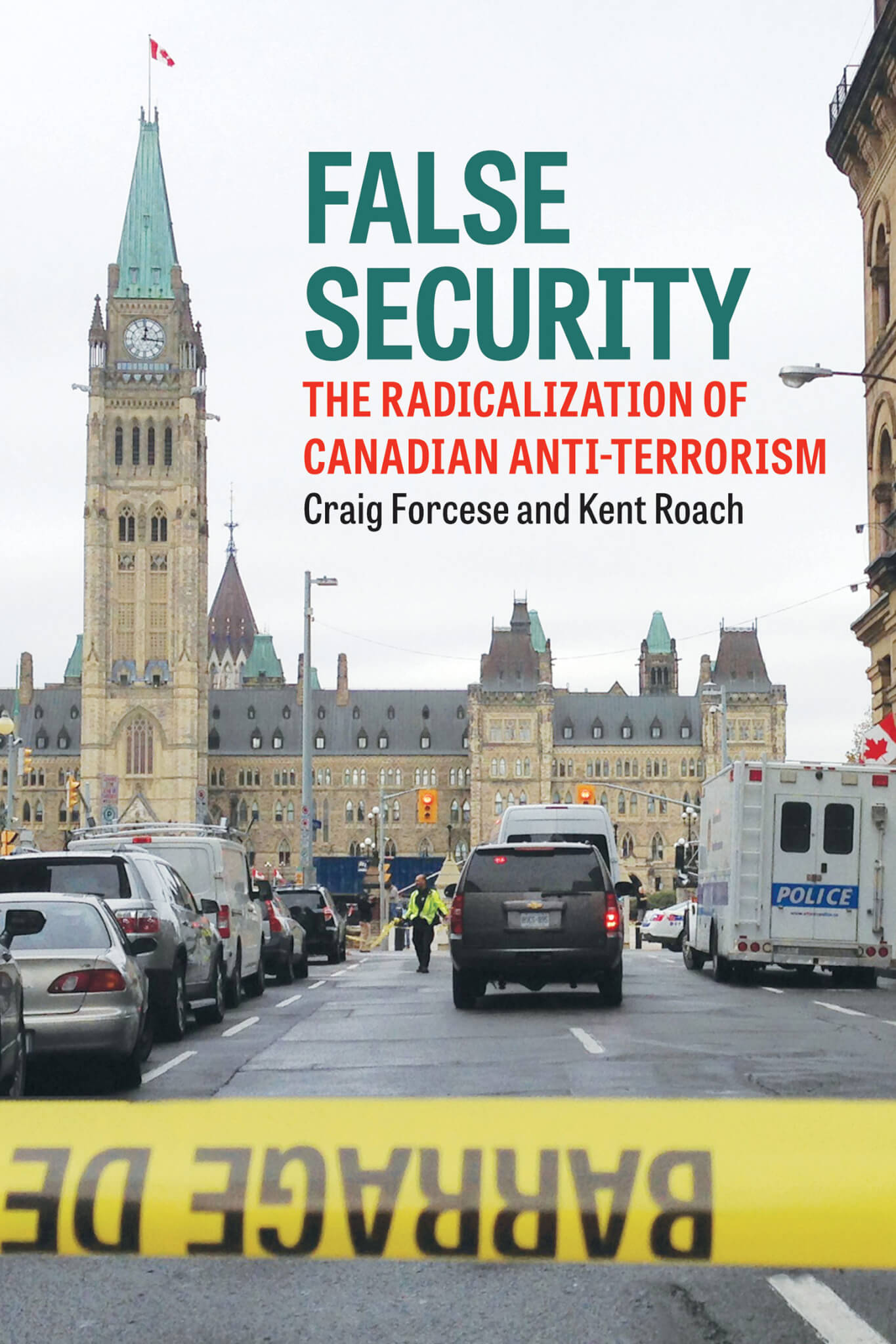Book jacket for False Security