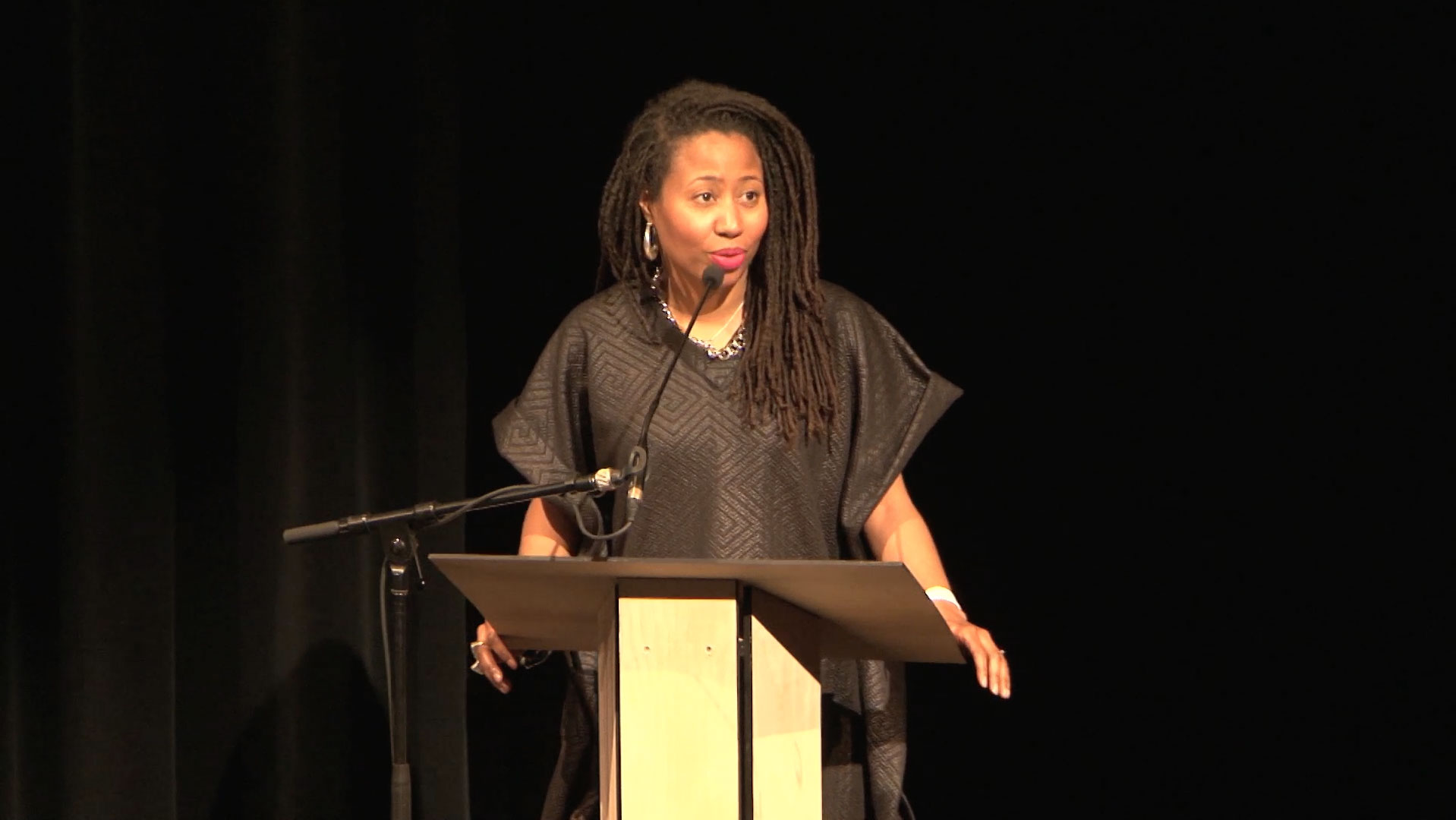 Video still of Nantali Indongo from The Walrus Talks How to Animate a City