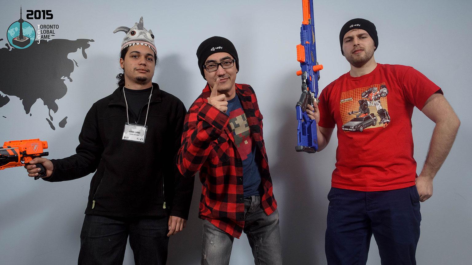 Photograph courtesy of Toronto Global Game Jam 2015