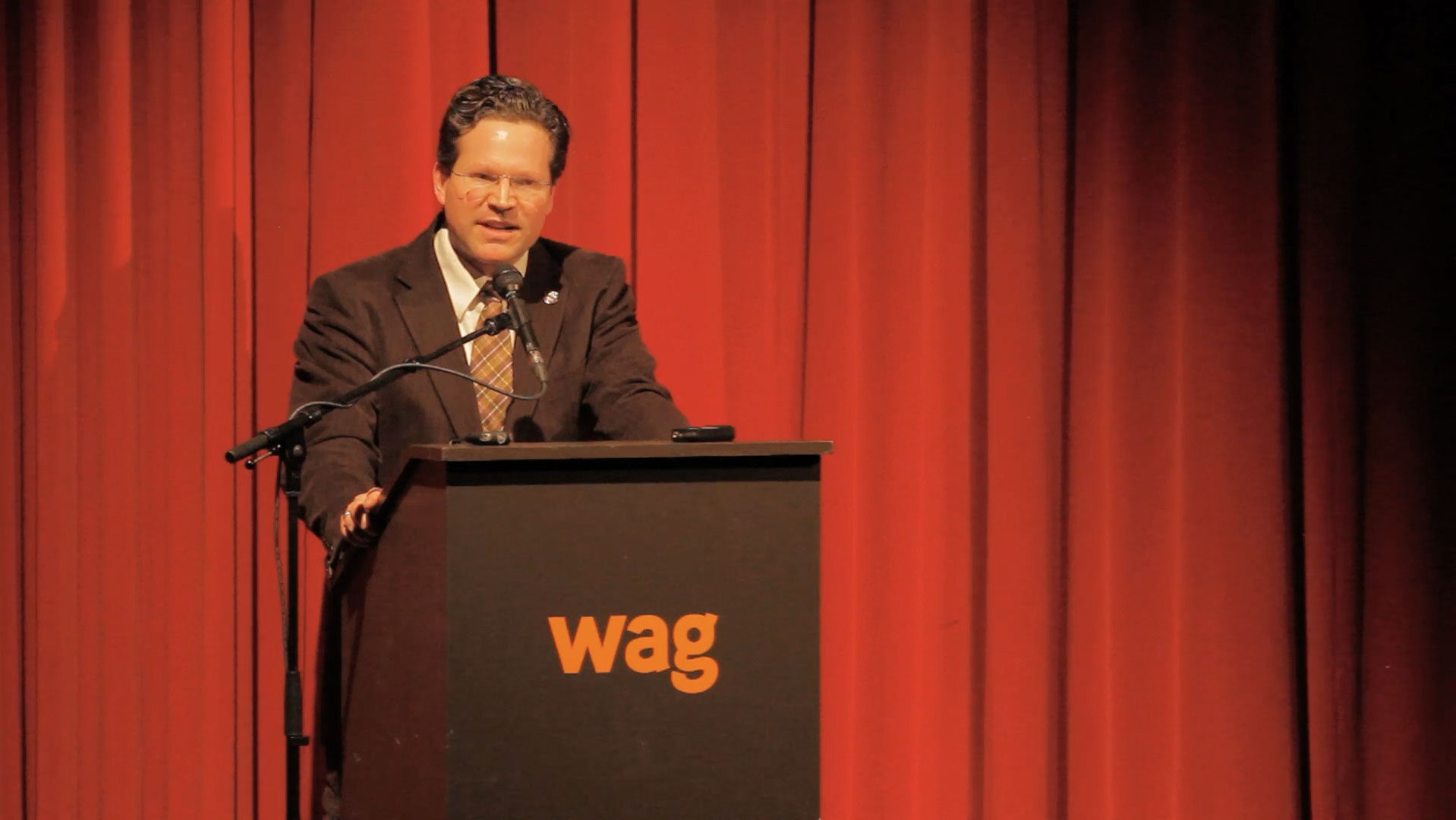 Video still of P. Whitney Lackenbauer from The Walrus Talks Arctic
