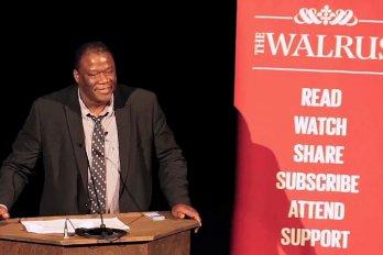 Video still of Steve Kirby from The Walrus Talks Improvisation