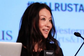 Video still of Elaine Lui from The Walrus Talks Creativity
