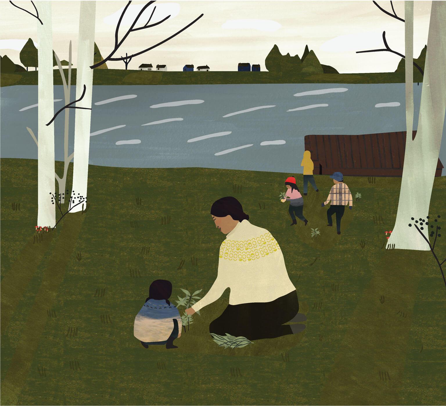 Illustration by Julie Flett